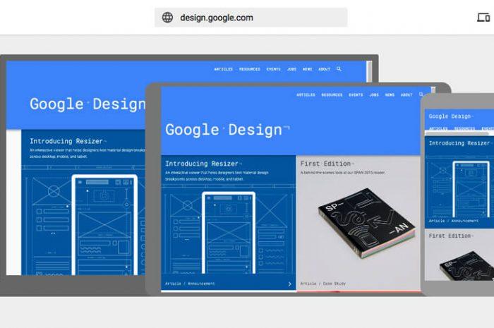 Google Resizer Material