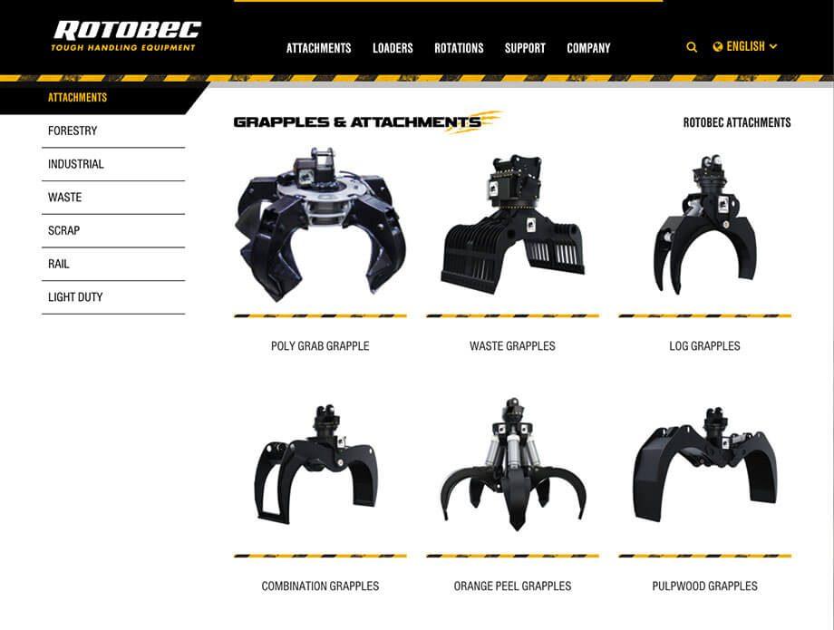 Rotobec website
